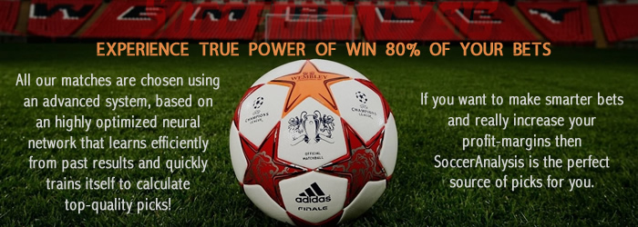 Soccer Analysis for Correct score betting